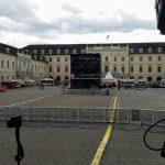 Innenhof Schloss Ludwigsburg (sieht noch nicht ausverkauft aus)