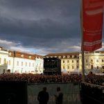 Ludwigsburg kurz vor der Show